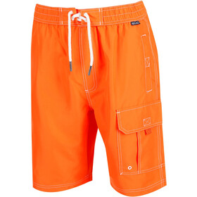 Regatta Hotham Boardshorts Heren, blaze orange